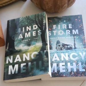 Fire Storm & Mind Games by Nancy Mehl